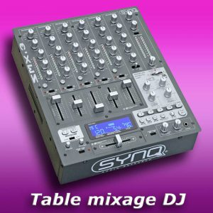 Table de mixage SYNQ smx3